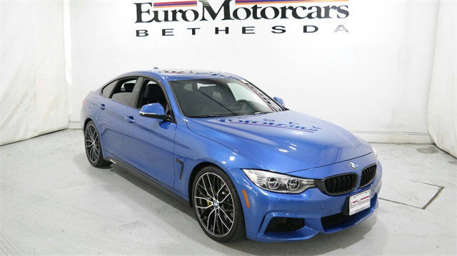 Bmw 4 Series 435i 435 Gran Coupe Gt Navigation 20 M Sport Package Blue Used