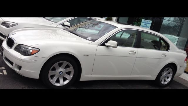 BMW 7 Series 750LI White