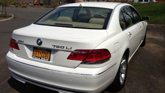 BMW 7 Series 2008 Technical Specifications