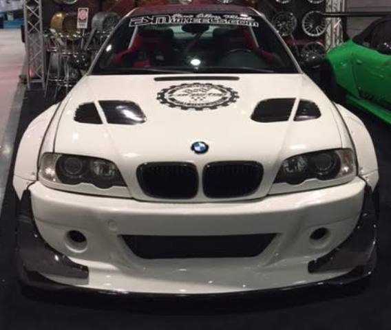 BMW E46 M3 Alpine White 2003 Supercharged DTM Widebody 600