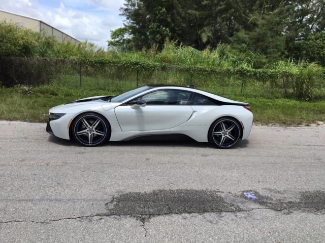 Bmw I8 Pure Impulse On Custom 22 Inch Asanti Wheels