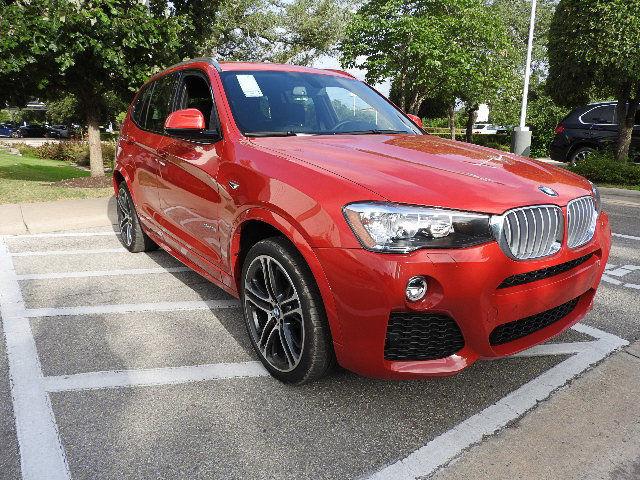 BMW X3 SDrive28i M Sport New 4 Dr Manual Gasoline 20L I4 DOHC 16V Melbourne Red