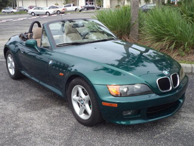 Bmw Z3 1998 Boston Green Metallic Convertible 103 300