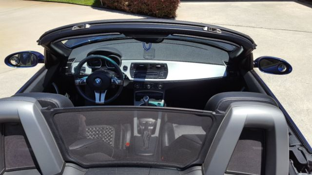 Bmw Z4 3 0i 2007 6 Speed Manual Trans Blue Convertible