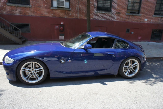 bmw z4 m coupe s54 m3 interlagos blue 6 speed manual. Black Bedroom Furniture Sets. Home Design Ideas
