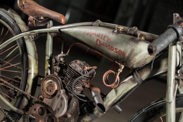 Board Track Racer Harley Peashooter Antique Vinatge Pre