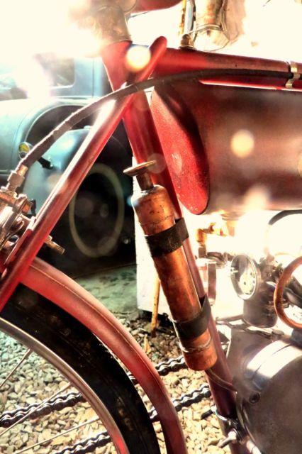Board Track Racer Motorized Bicycle Indian Custom Pre War