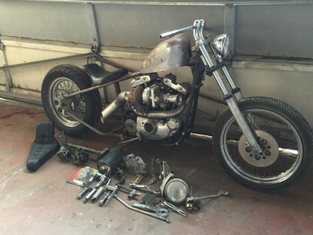 Motor Vehicle Bill Of Sale >> BOBBER TURBO Motorcycle Bike WITH EXTRA PARTS chopper ...