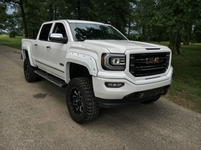 Brand New 2016 Gmc Sierra 1500 Lifted All Terrain Z71