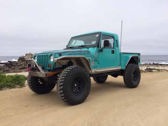 Built Jeep Brute Pickup Truck Conversion Wrangler 4x4 Jk8 Jk Fj40