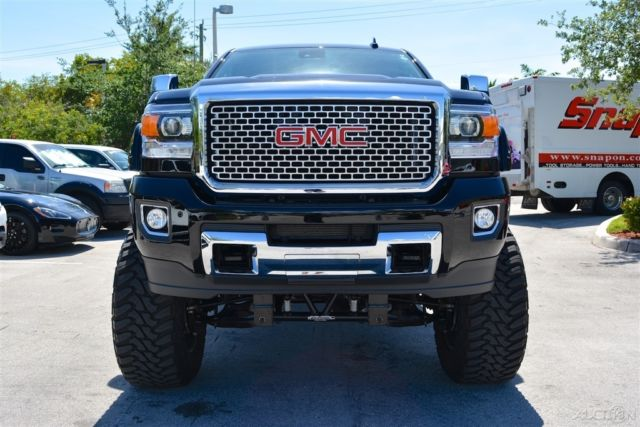 2016 Gmc Sierra 2500hd Crew Cab >> Bulletproof Suspension 12-inch Lift Custom Exhaust ECU Tune Duramax Plus Trailer