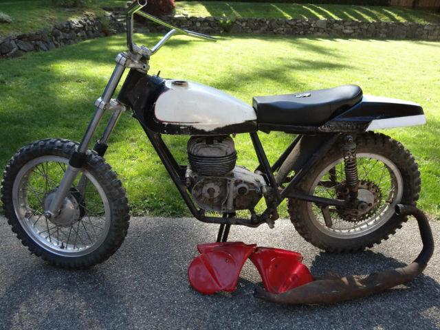 Bultaco Model 18 El Bandido for restoration