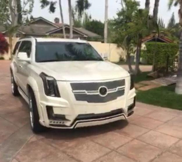 Cadillac Escalade ESV Platinum, Zero Design Body Kit 26