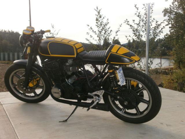 Cafe Racer Yamaha XS 750cc. 1978 Custom Built Motorcycles Yamaha XS 750
