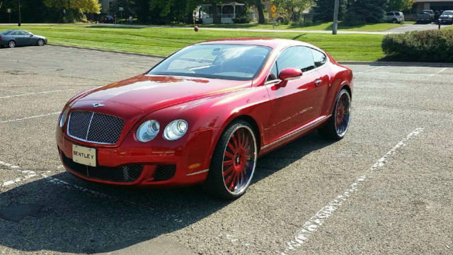 Candy Apple Red Bentley W Matching 26 Quot Rims