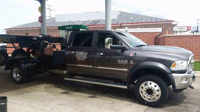Car Hauler Unit 2014 Ram Laramie 5500 And 2014 Kaufman 5