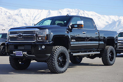 Chevy Crew Cab High Country Duramax Diesel 4x4 Custom New