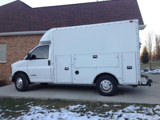 Chevy Express 3500 Box Truck, Cube Van, Tool Boxes
