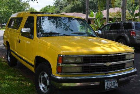 chevy full size pickup 1991 truck camper top silverado new atv tires inspection. Black Bedroom Furniture Sets. Home Design Ideas