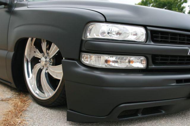 Chevy Silverado SEMA feature truck air ride bagged