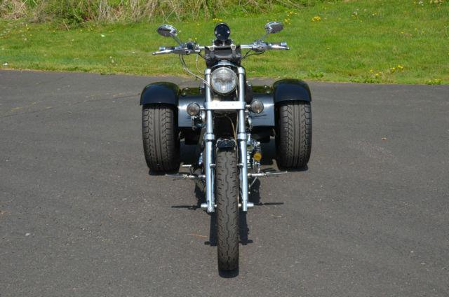 Chromed Harley Sportster Custom XL 1200 C XL1200C US Tri
