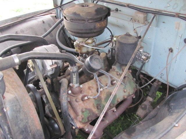Classic 1953 Ford Custom Flathead V8 Overdrive Shop Truck Rat Rod