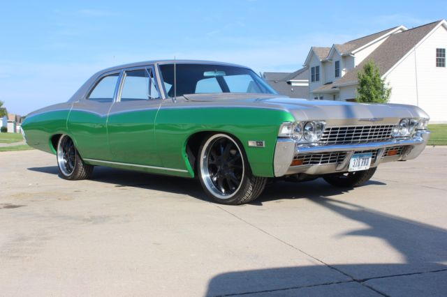 Green Chevrolet Davenport Iowa >> Clean 1968 Impala 66 67 69 70 muscle car lowrider hot rod