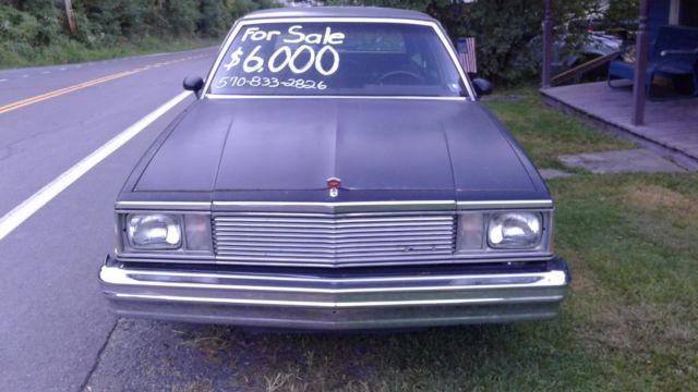 Clean 1981 Chevrolet Malibu Wagon