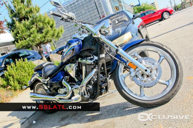 Yamaha Raider Cobra Swept Pipes
