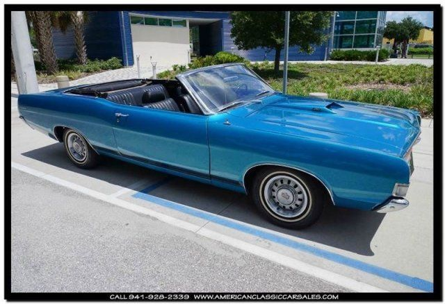 CLEAN Straight '69 Torino Real GT Convertible  390 Automatic