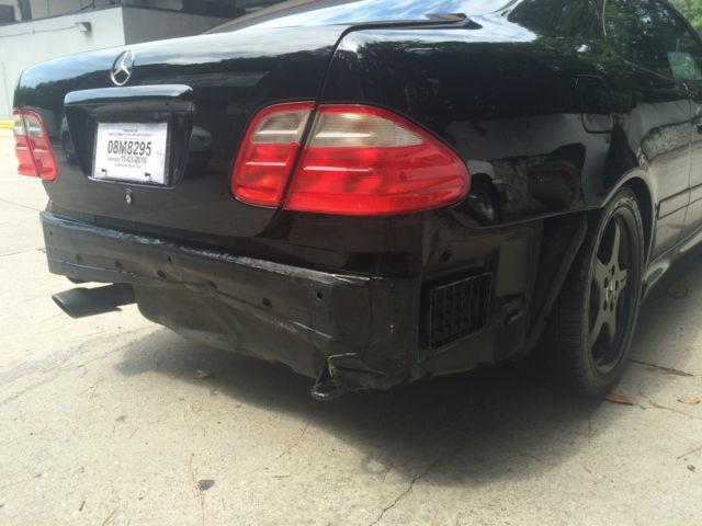 Clk 430 V8 4 3 Black Sports Coupe