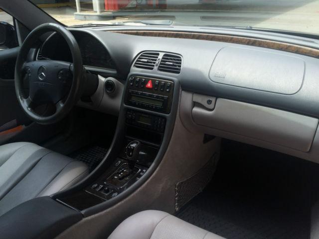 Clk 430 V8 4 3 Black Sports Coupe