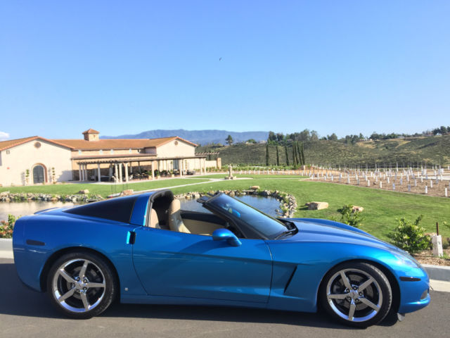 Corvette C6 6 Speed Jet Stream Blue Z51 With Lt1 Package
