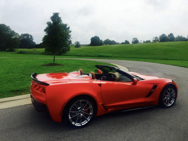 Corvette Convertible Grand Sport torch red 3LT automatic ...