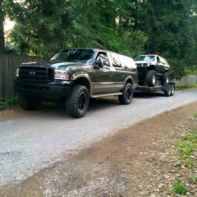 Cummins swapped Ford Excursion