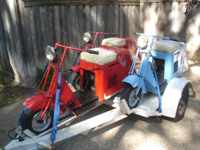 Cushman Scooters Qty 3 50 S Series With Custom Trailer
