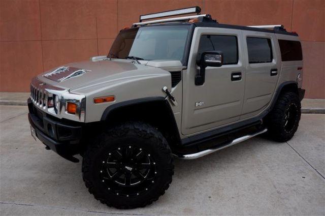 Custom 07 Hummer H2 4wd Luxury Low Miles Moto Metal Wheels