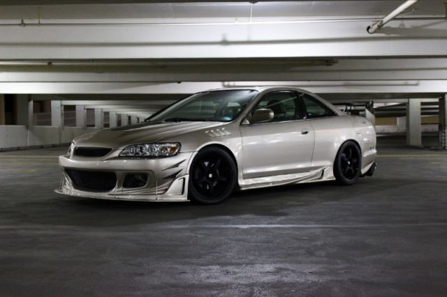 Custom 2001 Honda Accord Ex V6 Coupe