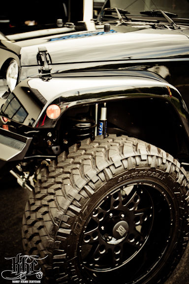 Custom 2007 Jeep Wrangler Unlimited Rubicon Sport Utility