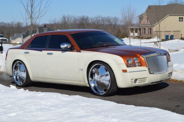 Custom 2008 Chrysler 300 24 Inch Rims Lambo Doors