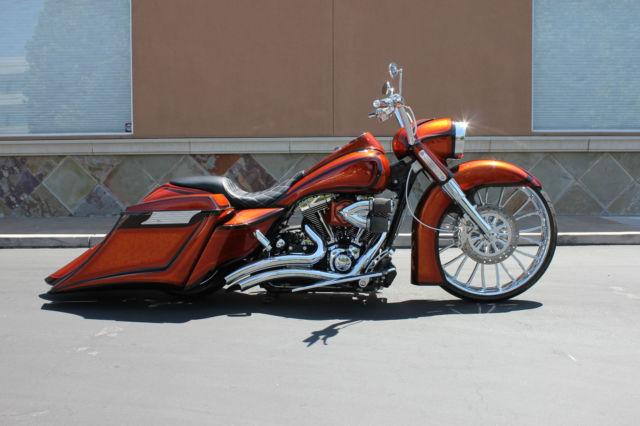 Custom 2013 Harley Davidson Road King 26 U0026quot  Custom Bagger