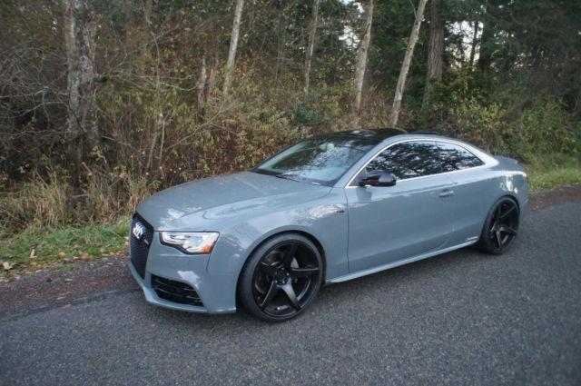 Custom 2015 Audi A5 Sline Only 13k Mile Grigio Medio Color