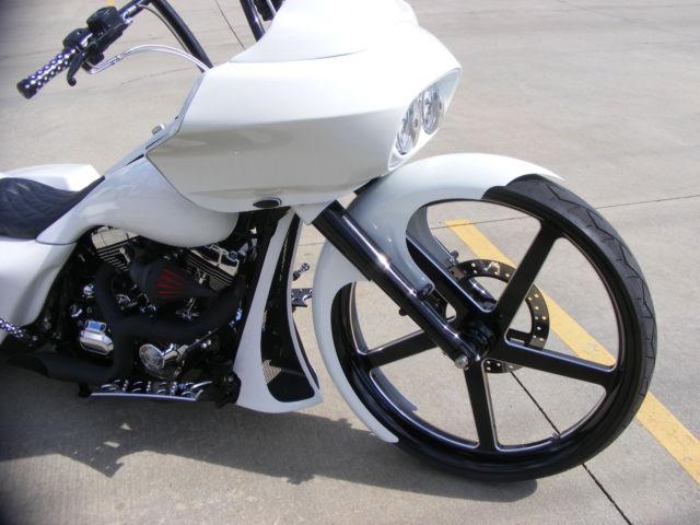 Greensboro Harley Davidson >> Custom 30 Inch wheel Bagger 2007 Road King Harley Davidson Street Glide airride