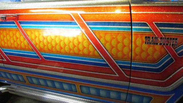 Dodge Ram 4x4 >> Custom 4X4 mopar show truck ... Metalflake paintjob Dodge ramcharger 1974 1977