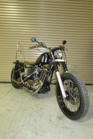 Custom 74 Harley Davidson Xlch 1000 Sportster Bobber