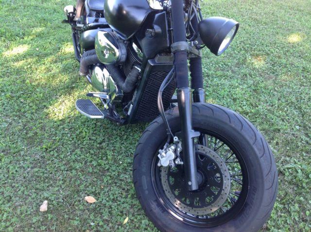 Custom Bobber 2007 Suzuki VL800 C50 Boulevard