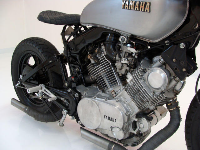 Custom Build 1981 Yamaha Virago 750 Cafe Racer    Bobber