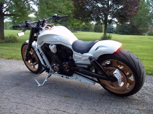 Custom Built Harley V Rod Muscle VROD Custom Built Chopper