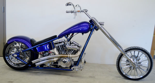 custom chopper motorcycle for sale built ss engine rolling thunder frame - Motorcycle Frame For Sale
