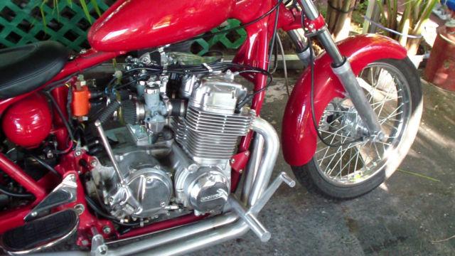 Custom Chopper750 Cb 750 Honda Four